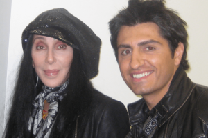 Cher with Vic Gerami, 2010