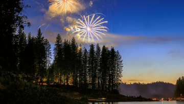 CAMP BASS LAKE: RECOVERY, FELLOWSHIP & FIREWORKS
