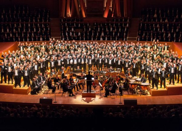 GAY MEN'S CHORUS OF LOS ANGELES PULLS ALL THE STOPS FOR ITS 40TH ANNIVERSARY