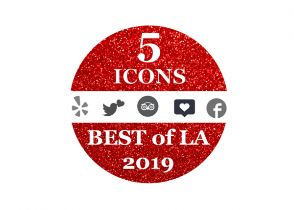 5 ICONS BEST OF LA 2019