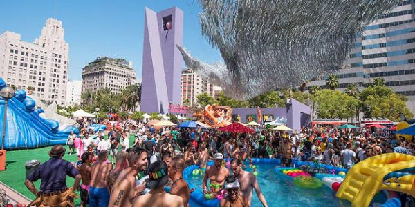 DTLA PROUD FESTIVAL BRINGS PRIDE TO PERSHING SQUARE