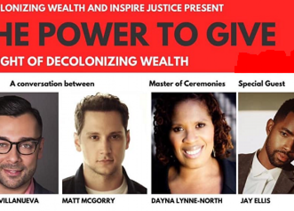 DECOLONIZING WEALTH, A FEEL-GOOD HOLLYWOOD PROJECT