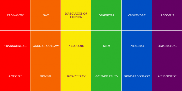 COMPREHENSIVE GUIDE TO SEXUAL ORIENTATION, GENDER IDENTITY & SEXUALITY TERMS & DEFINITIONS