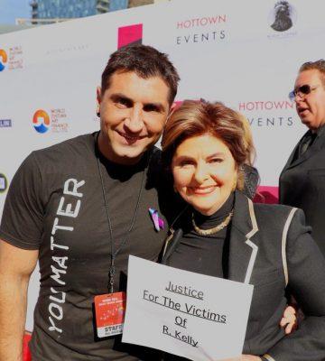 Vic Gerami and Gloria Allred