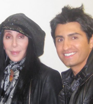 Cher and Vic Gerami