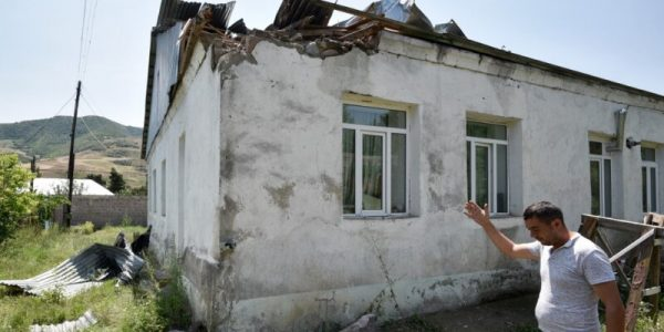 Azerbaijan Attacks Armenia