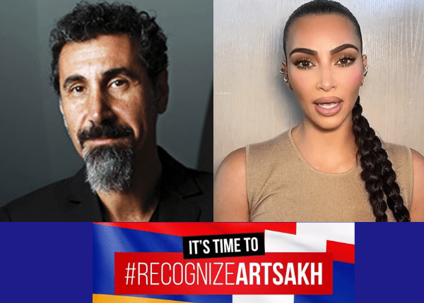 I stand With Artsakh and Armenia The Blunt Post Vic Gerami Kim Kardashian Serj Tankian