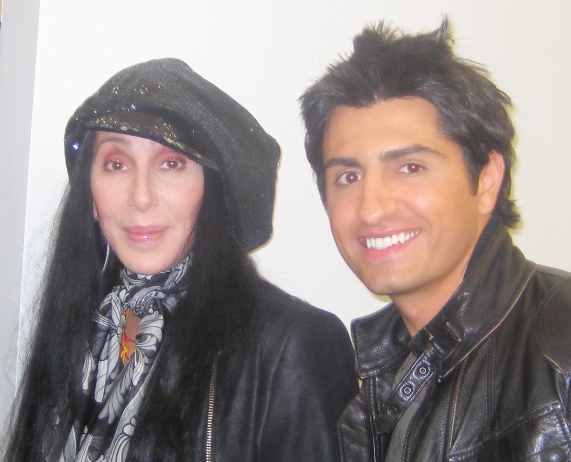 Cher and Vic Gerami