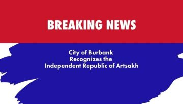 City of Burbank Recognizes Artsakh The Blunt Post Vic Gerami