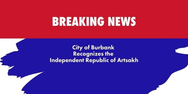 City of Burbank Recognizes Artsakh The Blunt Post Vic Gerami