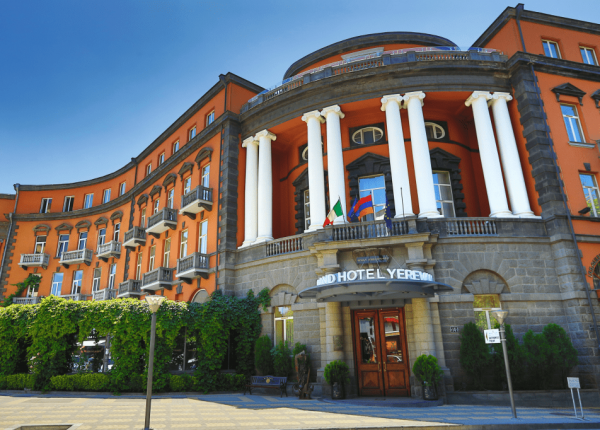 Aznavour presidential suite Grand Hotel Yerevan The Blunt Post